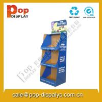 China Custom Cardboard Store Displays , Foldable Counter Display Stands wholesale