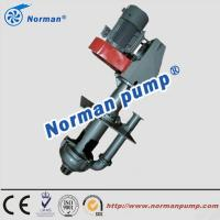 China high quality  and High wear resistance sump slurry pump vertical pump on sale