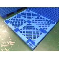 China 4 Way HDPE Plastic Storage Pallet For Variour Industries Lightweight Structure wholesale