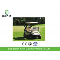 China 2 Seat Electric Golf Carts 48 Voltage Trojan Battery Aluminum Chassis DC Motor on sale