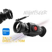 China 50mm Lens Thermal Imaging Scope 2x / 4x Digital Zoom Nature & Law Enforcement Use wholesale