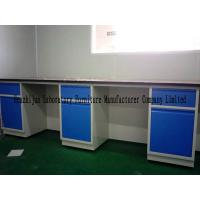 China 10mm Chemical Steel Lab Bench 12.7mm Phenolic Resin Tabletop Acid Resistant wholesale