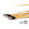 China de pérdida baja a una cara de la chaqueta de Pvc del cordón de remiendo de la fibra óptica de los 5m exceso, Corning G657A wholesale