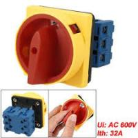 China 160A 440V AC 50HZ Electric Change Over Switch , 3 Pole Rotary Switch on sale
