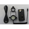 China Angle adjustable stereo microscope illuminator oblique slanting led light mounting pole 25mm 32mm wholesale