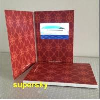 """China LCD Video Brochure Video Birthday Cards 2.4"""" / 4.3"""" / 5"""" / 7"""" /  10.1"""" wholesale"""