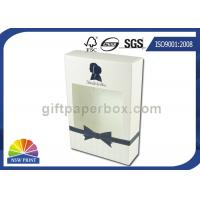 China Straight Tuck End Paper Box Lotion Body Wash Packaging Box with Clear Window wholesale