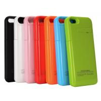 2200mAh Portable External Power Case for iPhone 5/5S with Kickstand Pink Power Bank for iPhone External Battery Case