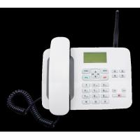 China LTE FKT - 4 4G Fixed Wireless Phone White 4G Feature Phone With 1000mA Battery wholesale