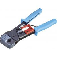 China RJ45 RJ11 Dual Modular and Plug Crimping Tool With Stripping and Cutting Function on sale