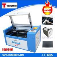 Triumph 50W 60W laser cutting machine Co2 laser cutter engraver mini laser engraving machine for wood acrylic leather