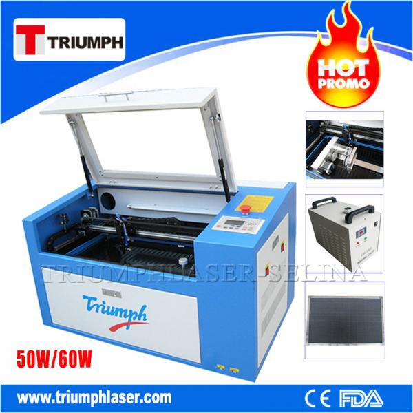 Quality Triumph 50W 60W laser cutting machine Co2 laser cutter engraver mini laser engraving machine for wood acrylic leather for sale