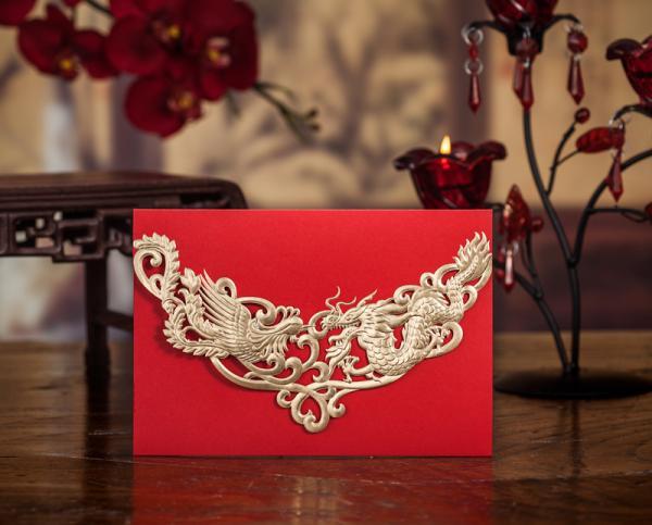 Asian card style