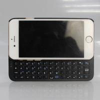 China Slide-out Iphone 6 Bluetooth Keyboard Case White / Black With ABS Keyboard wholesale