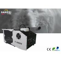 China 4L 3000W Stage Fog Machine / Ice Low Fog Machine For Meeting Room wholesale