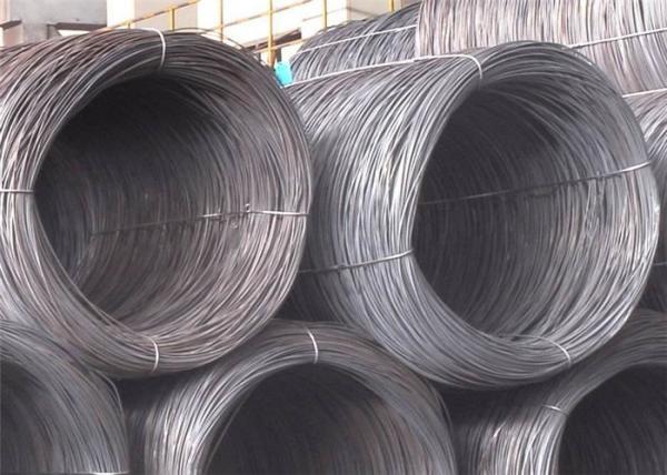 Quality Alambre de acero de SAE1006 SAE1008 10m m para la fabricación del clavo del dibujo frío y el material de construcción for sale