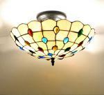 Mediterranean Style Ceiling Lamp Warm and Sweet Bedroom Light Living Room Lighting Fixture