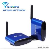 Buy cheap 5.8GHz Strong Anti-interference PAKITE Factory Long Range Wireless AV Sender for all kinds of  TV and TV Box from wholesalers