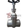 China High Performance Handwheel Gate Valve Butt Welding End For 150LB Z61H wholesale