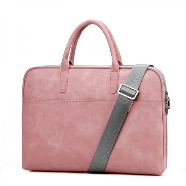 Quality Women's PU Leather Business Laptop Bag Fashionable For Daily Use for sale
