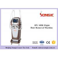 China Vertical Type Double Handle SHR IPL IPL Hair Removal Machine , IPL Beauty Equipment wholesale