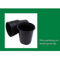 Quality Round Garden Nursery Pots Garden plant accessories Black or as request Color for sale
