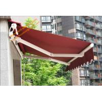 China Aluminum Customized Sizes Retractable Electric  Patio Awnings for Outdoor Balcony and Villa wholesale
