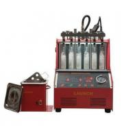 China Electronic Fuel Injector Tester And Cleaner Machine 100W Ultrasonic Cleaner Power on sale