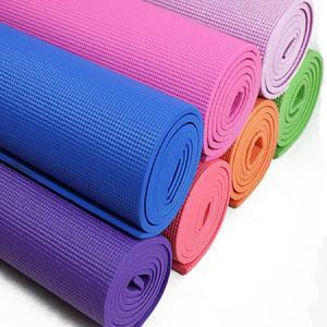 China Recycled Polyurethane Traveling Durable Yoga Mat , Heat Insulation Light Weight Foam Yoga Mat wholesale