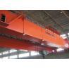 China Grúa de arriba de la viga doble de 25 toneladas, grúa de puente gemela del haz del doble de la carretilla wholesale
