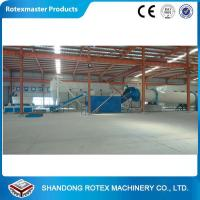 China GHG 2.2*12 Wood chips , shavings , sawdust three cylinder rotary drum chipper wholesale