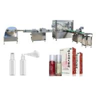 Buy cheap Touch Screen Perfume Filling Machine With PLC Control System Round Bottle from wholesalers
