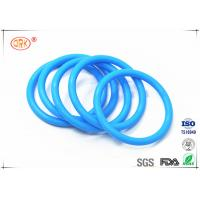 China Durable Tasteless Rubber Silicone O-Ring Anti Dust 30 - 85 Shore Hardness wholesale