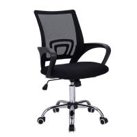 China hot selling chromed base mesh office chair wholesale