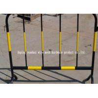 Flexible Green Portable Outdoor Fencing Metal Fence Panels With Mobile Installation