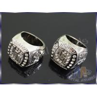 China Champion Gifts Zinc Allay Ring Stones Insert Silver Plating OEM Design wholesale