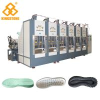 China One Color EVA Shock- absorbing Sport Shoe Sole Making Machine With 100-120 Pairs / Hour wholesale
