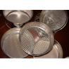 35um - 4000um Stainless Steel Testing Sieve Industral Medical Perforated Metal