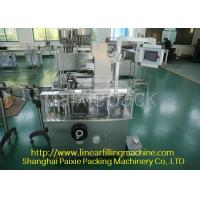 China Super Efficiency Tooth Paste Equipment For Boxing , Low Noise on sale