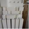 China Ultra Purity Bubble Alumina Heat Resistant Bricks For Lining Of Blast Furnace wholesale