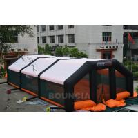 China 210D PVC Coated Nylon Inflatable Paintball Tent / Paintball Arena With Air Blowers wholesale