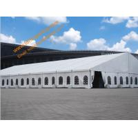 China Wind Resistant 100km/h Workshop Tent Aluminum Structure Waterproof Marquee Tents wholesale
