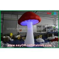 China Big Red and White Inflatable Lighting Decoration For Party / Event on sale