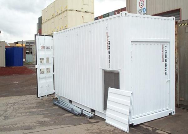 Quality White Build ISO Modified Insulated Shipping Container Home Construction for sale