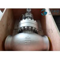 China A216 WCB Carbon Steel Body Flanged End BS 1873 Globe Valve Plug Type Disc 150Lb ~ 2500Lb wholesale