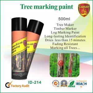 China Peinture de jet colorée de séchage rapide d'inscription pour des traverses de rondin/contreplaqué/ wholesale
