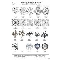 China Offer Wrought Iron Steel Design Metal craft panels wholesale
