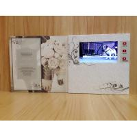 China TFT Video Booklet for Invitation / Wifi promotional video cards for opening veremonies wholesale