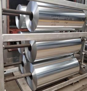 China Alloy Household Aluminum Foil AA1235 O 6.35 Micron X 1095mm 5.2-30 Mic Gauge wholesale