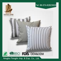 China Home Indoor Decorative Modern Linen Canvas Sofa Throw Pillow Cushion Covers 43x43cm wholesale